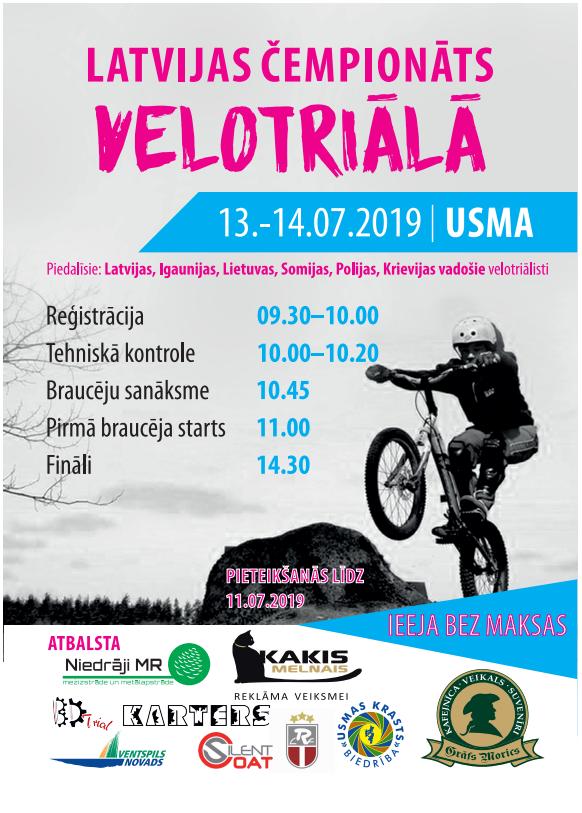 Latvijas kauss velotriālā.