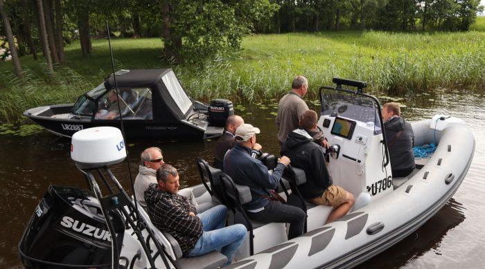Valsts vides dienests apmāca sabiedriskos vides inspektorus par zvejas kontroli