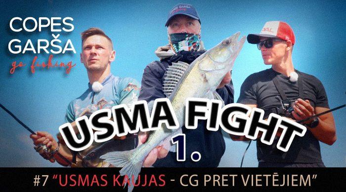 COPES GARŠA. Usma fight 1.
